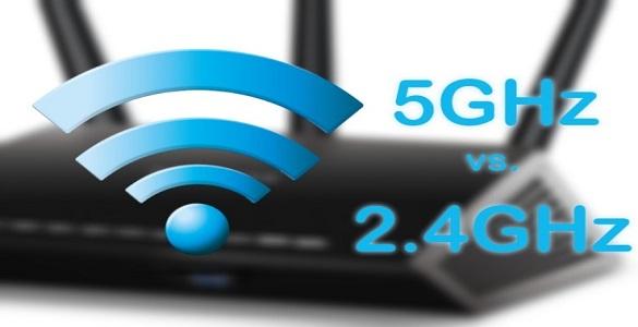 تفاوت باندهای فرکانسی ۲.۴ و ۵ گیگاهرتز در ارتباط بی سیم (۸۰۲٫۱۱n)