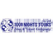 لوگوی آژانس هزار و یک شب