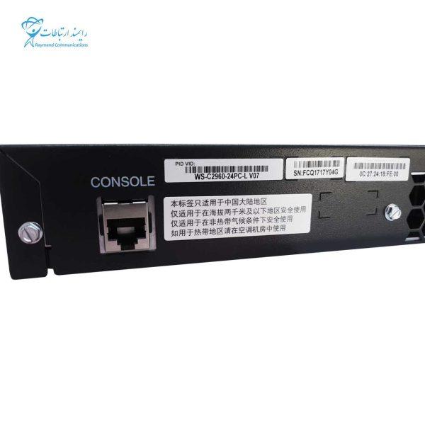 CISCO SWITCH-WS-C2960-24PC-L