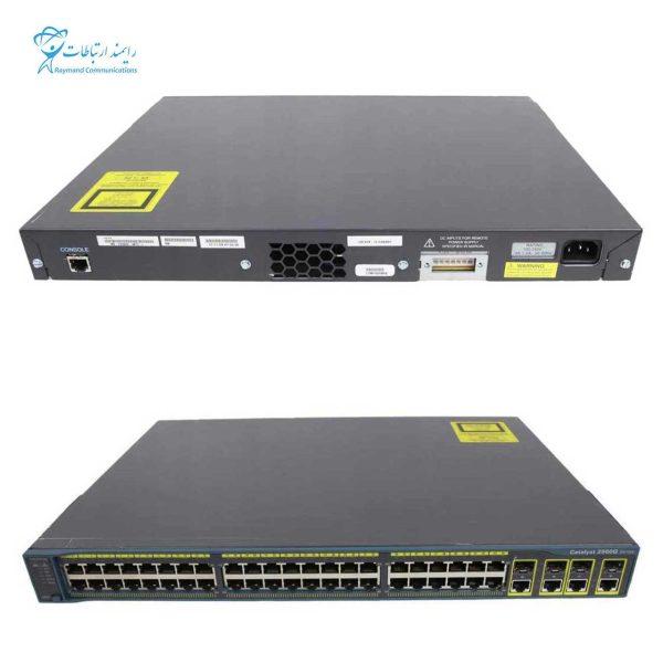 CISCO SWITCH-WS-C2960G-24TC-L