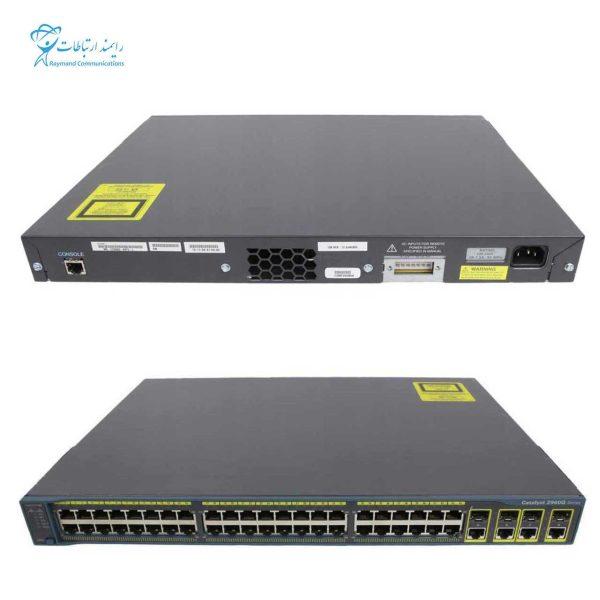 CISCO SWITCH-WS-C2960G-48TC-L