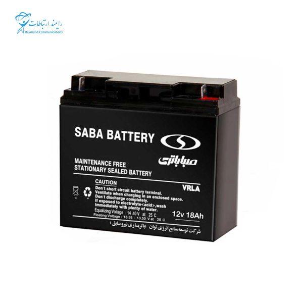 SABA BATTERY-12V-18AH