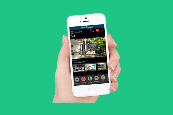 انتقال تصاویر دوربین مدار بسته روی موبایل