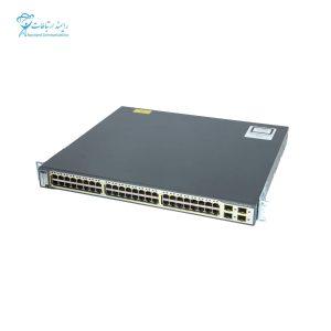 سوئیچ سیسکو WS-C3750g-48PS-S