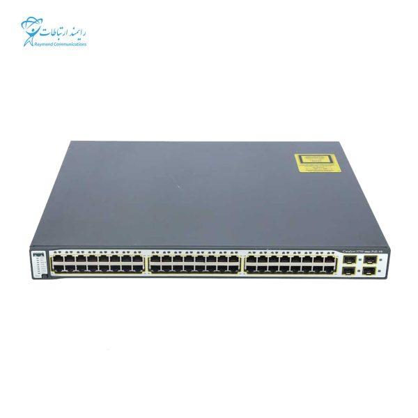 سوئیچ سیسکو WS-C3560-48PS-S