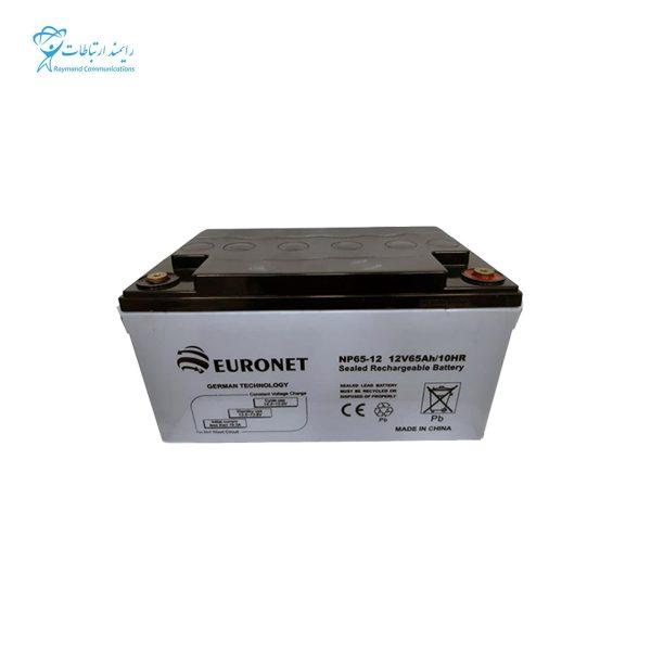باتری یو پی اس 12ولت 65 آمپر یورونت NP65-12 12V 65Ah