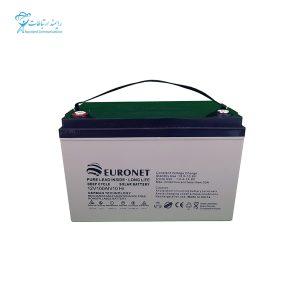 باتری یو پی اس 12ولت 100 آمپر یورونت NP100-12 12V 100Ah