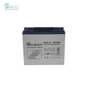 باتری یو پی اس 12ولت 18 آمپر یورونت NP18-12 12V 18Ah