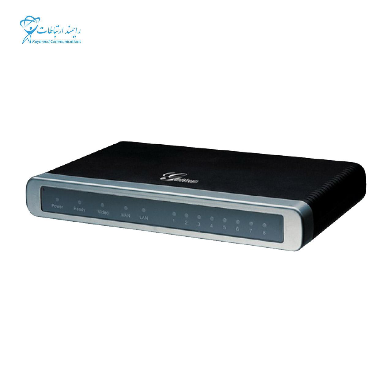تصویر گیت وی تلفن آنالوگ به آی پی (FXO) گرنداستریم Grandstream GXW4108 Grandstream GXW4108 Analog IP Phone (FXO) Gateway