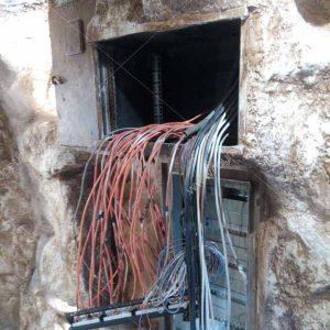 پروژه نصب دوربین و دزدگیر-رستوران غار