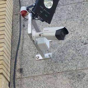 پروژه نصب دوربین هایک ویژن با پروژکتور اتوماتیک
